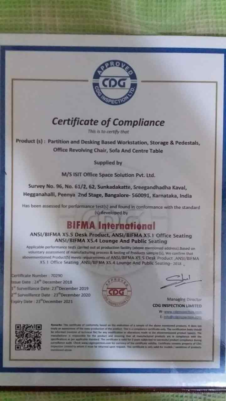 bifma certification