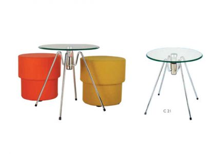 chair studio glass-table