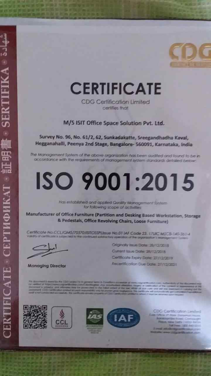 iso-isit certification